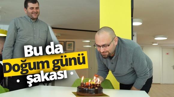 SDN ofisinde sürpriz doğum günü!
