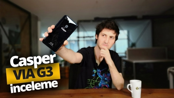 1.699 TL'ye yapay zekalı telefon: Casper VIA G3 inceleme