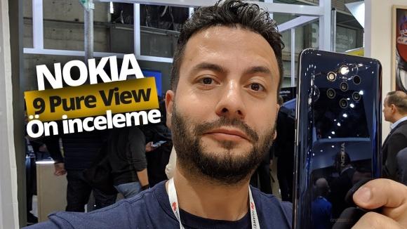 5 Kameralı Nokia 9 PureView ön inceleme