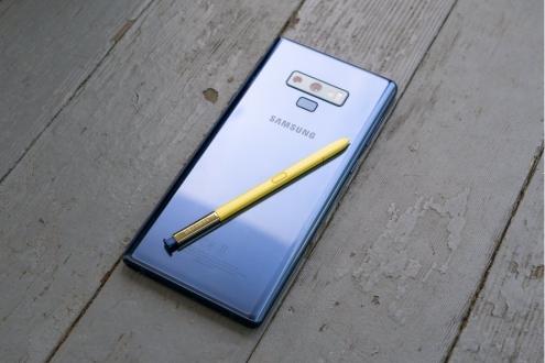 Galaxy Note 9 için yeni güncelleme Türkiye'de