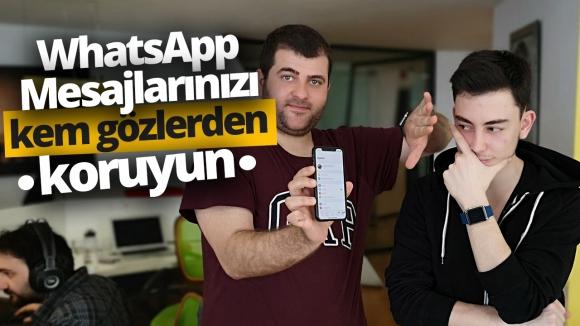 Face ID ve Touch ID ile WhatsApp artık daha güvenli!