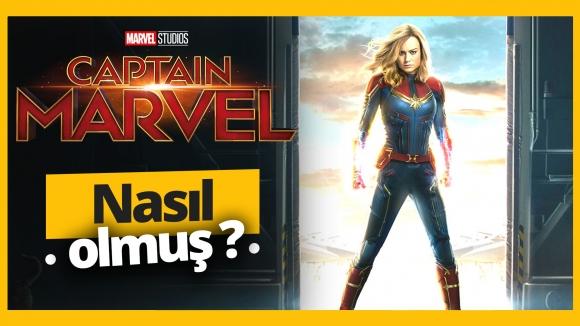 Captain Marvel izledik, değerlendirdik!