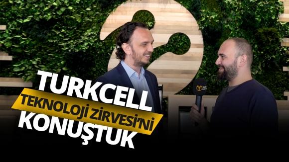 Turkcell ile 5G'yi ve Teknoloji Zirvesi'ni konuştuk!