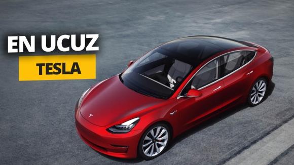 Karşınızda daha ucuz Tesla Model 3s (Video)