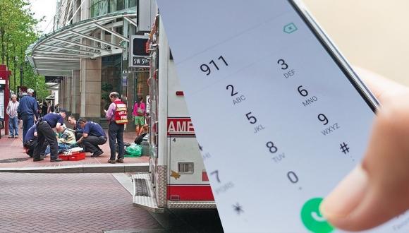 Ambulans ve polise adres tarifi gerekmeyecek!
