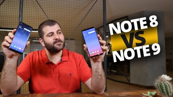 Android Pie kurulu Note 8 ile Note 9 karşı karşıya!