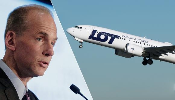 Boeing CEO'sundan 737 Max açıklaması!