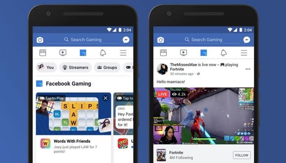 Twitch'e rakip: Facebook Gaming kullanıma sunuldu!