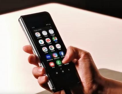 Samsung Galaxy Fold videosu ortaya çıktı!