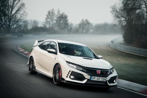 Hibrit Honda Civic Type R geliyor!