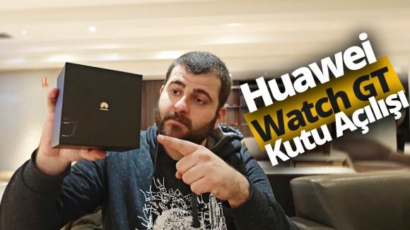 Huawei Watch GT Active kutu açılışı!
