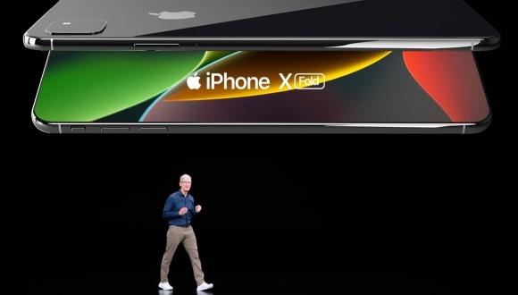 Katlanabilir iPhone için heyecan verici konsept!