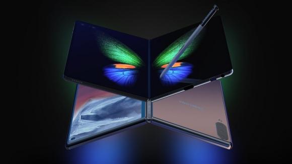 Katlanabilir telefon Galaxy Fold 2 konspeti yayınlandı!