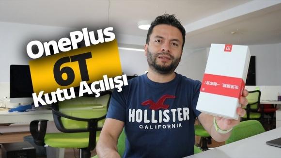 OnePlus 6T kutusundan çıkıyor! (Video)