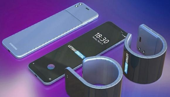Samsung'dan bileklik haline gelen telefon müjdesi!
