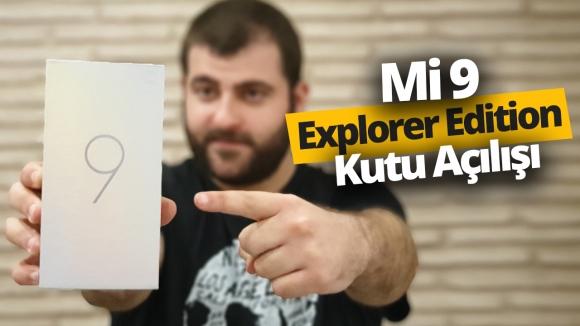 12 GB RAM'li Xiaomi Mi 9 Explorer Edition kutudan çıkıyor!