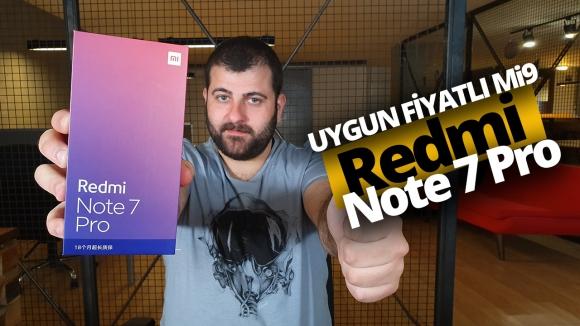 Redmi Note 7 Pro kutusundan çıkıyor!