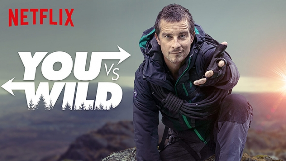 Netflix Bear Grylls ile yeni interaktif dizisini duyurdu!