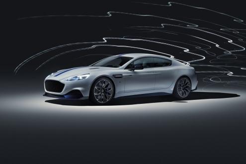 Yüzde yüz elektrikli Aston Martin podyumda!