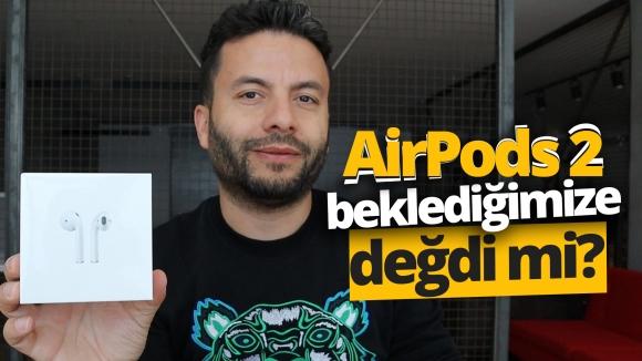Apple AirPods 2 kutusundan çıkıyor!
