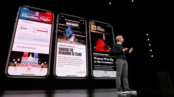 Yüzbinlerce kişilik Apple News+ başarısı!