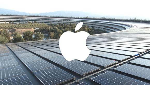 Apple'da tamamen yenilenebilir enerji dönemi!