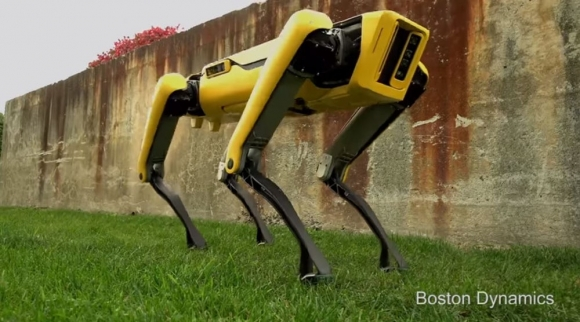 Boston Dynamics robotunun bir yeteneği daha çıktı!