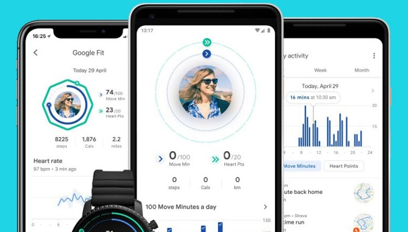 Google Fit uygulaması iPhone ve iPad'e geldi!
