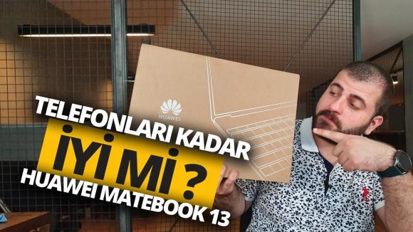 Huawei MateBook 13 kutu açılışı!
