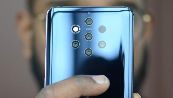 Beş arka kameralı Nokia 9 için yeni güncelleme!