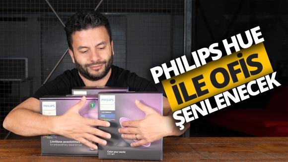 Ofis şenlenecek! Philips Hue kutu açılışı!