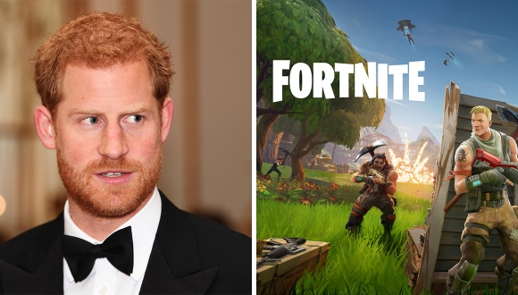 Prens Harry, Fortnite'a savaş açtı!