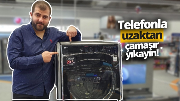 Uzaktan yönetebilen çamaşır makinesi LG TwinWash!