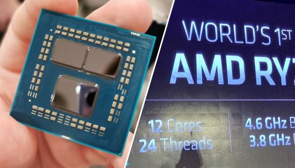 Dünyada bir ilk: 7 nm'lik Ryzen 9 3900X tanıtıldı!