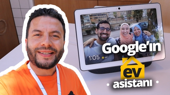 Ev sahibini tanıyan Google Nest Hub Max (Video)