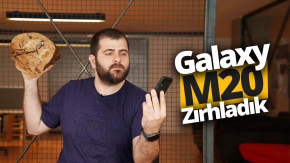 Galaxy M20'yi Spigen ile zırhladık!