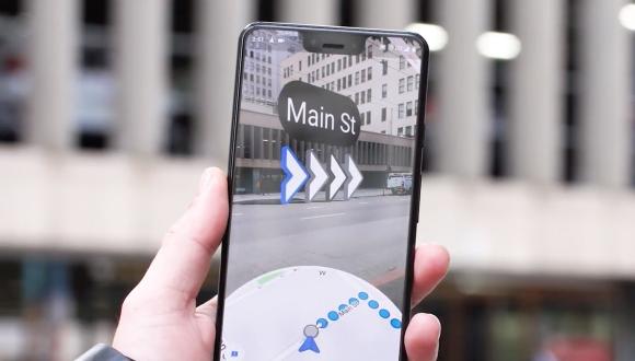 Google Maps AR çıktı! İşte destekleyen telefonlar!