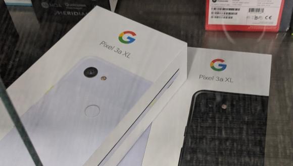 Google Pixel 3a XL mağazada görüntülendi!