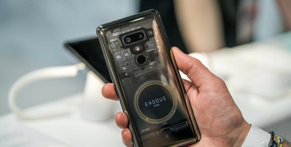 Blockchain tabanlı HTC Exodus 1s için onay çıktı
