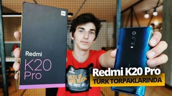 Türkiye'de ilk! Redmi K20 Pro kutusundan çıkıyor