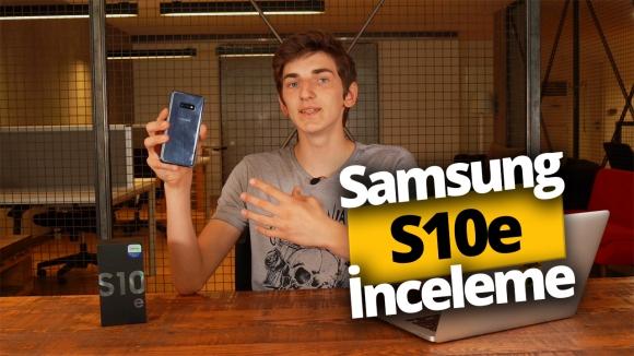 Samsung Galaxy S10e inceleme!