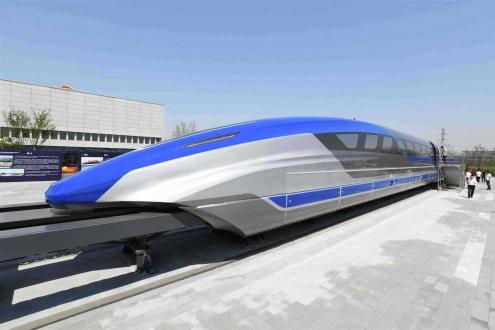 Neredeyse uçak kadar hızlı Maglev treni tanıtıldı!