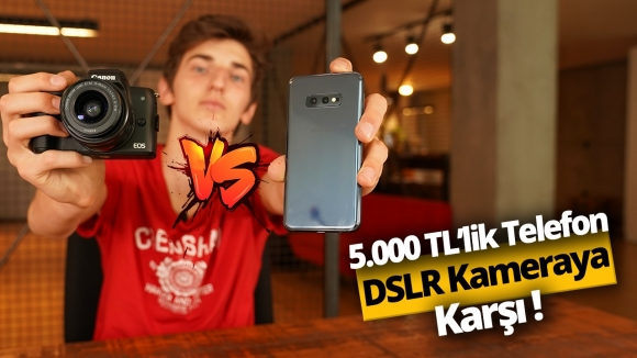 5000 TL'lik telefon DSLR'a rakip olabilir mi?
