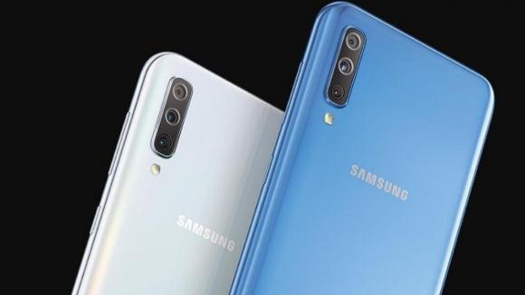Galaxy A70 için parmak izi güncellemesi sunuldu