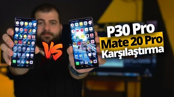 Huawei P30 Pro vs Mate 20 Pro! (Video)