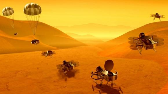 NASA Dragonfly misyonu ile Titan'da drone uçuracak!