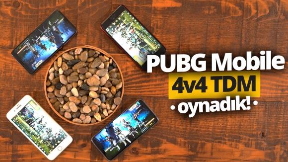PUBG Mobile 4v4 TDM modu oynadık! (Video)