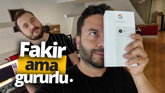 Google Pixel 3a XL kutu açılışı