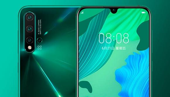 Kirin 810'lu Huawei Nova 5 tanıtıldı!