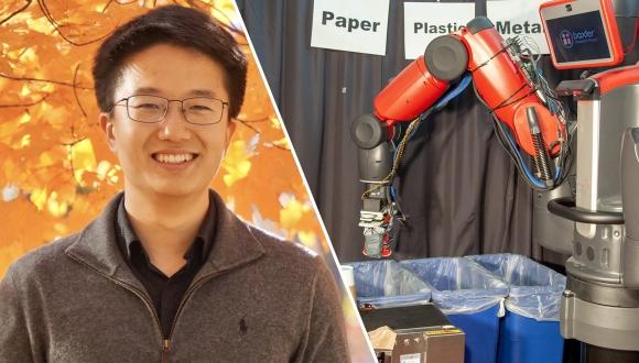 MIT dokunduğunu tanıyan robot yaptı!